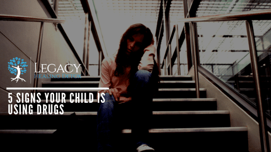 5 Signs Your Child is Using Drugs